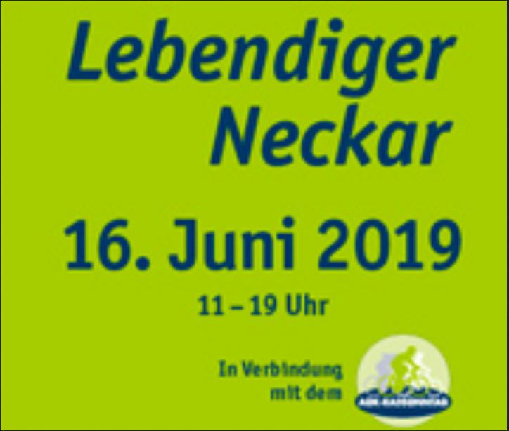 Lebendiger Neckar 2019