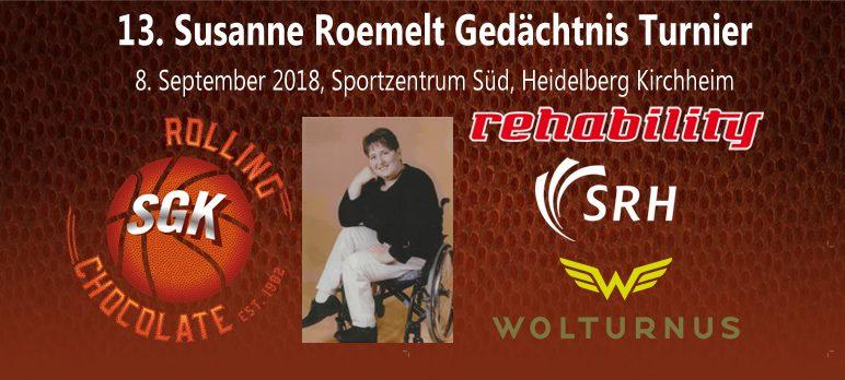13. Susanne Roemelt Gedächtnisturnier 2018